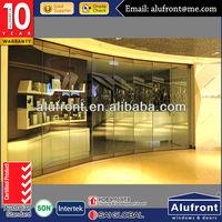 Frameless Folding Glass Doors