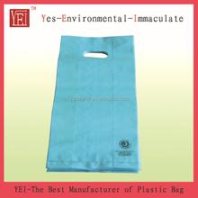 New Material HDPE Die Cut Plastic Bag