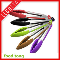 Safety quality silicone heat resistant silicone tips houseware kitchen tools food clamp