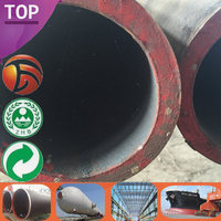 St44/St52/St45 Quality Assured mechanical properties of st37 steel Factory Supply 125mm diameter steel welded pipe