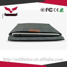 12 Inch For Apple New For Macbook PU Leather Carrying Laptop Notebook Sleeve Bag For Macbook 12""