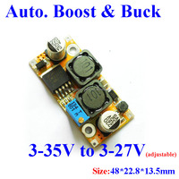 LM2577 automatically step up and step down boost/buck converter pcb maker board output voltage adjustable Solar power panel