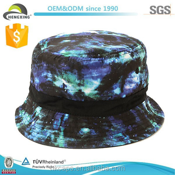 Tie Dye Bucket Hat Wholesale Blank Tie Dyed Bucket Hat