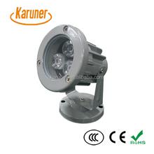 Newest energy saving 3w RGB color change IP65 waterproof led flood light mini spotlight garden