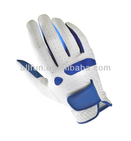 Golf Glove White Color and blue