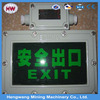 Promotion!!!2015 new design Explosion Proof LED Exit Sign Lamp with low price