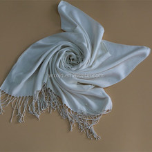 Boho Chic Tops White Silk Scarf Linen Korean Fashion Store