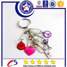 many kinds of fashion custom carabiner keychain for sale