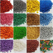 Colored EPDM Rubber Granule-F-V-1520