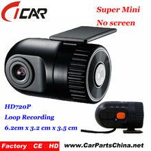 Nuova promozione! Più piccolo hd720p registrazione automatica h. 264 veicolo auto registratore
