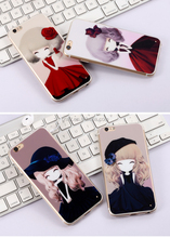 High quality Cell phone cover,TPU transparent soft Design phone cover,,Mobile Phone Cover For Iphone 6 plus