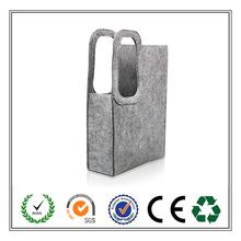 China Wholesale promotional felt bag!!! High quality handmade felt shopping bag