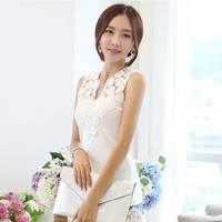d20399f 2015 summer new design sexy lace vest for women