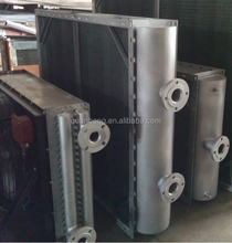 steam to air air dryer heat exchanger with carbon steel fin tube