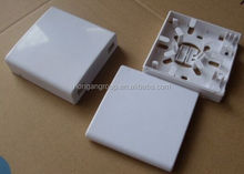 2 core fiber opitc wall mounted face plate