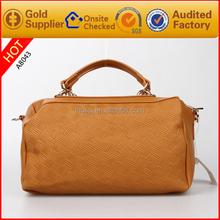 Hot sale fashion women hand bags leather ladies handbag manufacturers in guangzhou
