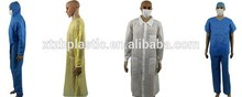Disposable sms lab jackets, Disposable Polypropylene lab coats, disposable lab jackets