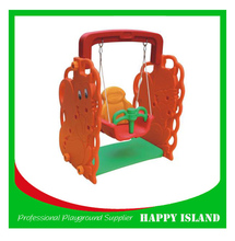 Hot Selling Kids Plastic Toy Set Easy Swing Chair Outdoor Swing Egg Chair