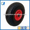 10 Inch small wagon tyre rubber wheel small rubber tire 3.00-4