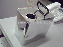 5L square chemical can with plastic handle