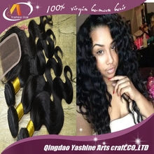 light brown lace closure 3.5*4 full lace closure brazilian hair closure