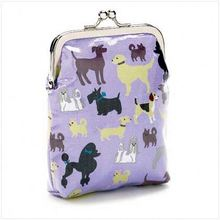 High quality design your own PU frame purse
