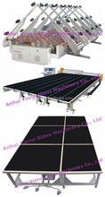 Automatic CNC glass cutting machine used with glass tempering furnace