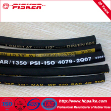 Excellent Chinese Fiber Braid Compressor Rubber Air Hose Smooth Surface High Pressure Flexible Air Hose