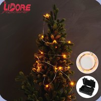 LIDORE Micro LED Copper Wire String Light With Adaptor Plug For Christmas