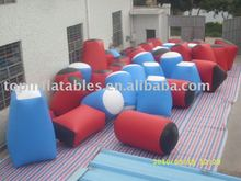 Inflatable sports game,inflatable paintball bunker,inflatable bunkers