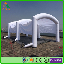 Hot sale!good quality inflatable tunnel tent photo booth/air dome tents price