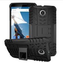 Hybrid Combo Shockproof Mebile Phone Case Cover For Motorola Google Nexus 6