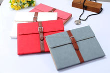 2015 New design Stand function PU leather wallet tablet case briefcase for ipad air 2 alibaba china