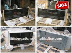 Hotselling Pure Black Granite Slab No hole No stain