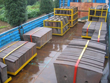 Dia 4.0m Steel Cement Mill Alloy Steel Castings With Hardness More than HRC50