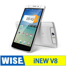 Inew V8 MTK6591T Six Hexa Core mobile phone 5.5'' IPS Android 4.4 phone 2GB RAM 16GB ROM
