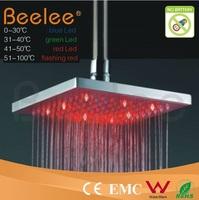 8-Inch Fancy LED Ceiling Mounted Rain Shower Head