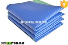high density massage pvc foam yoga mat folding