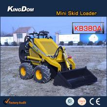 Mini wheeled loader price Mini loader China Skid steer mini loader on sale