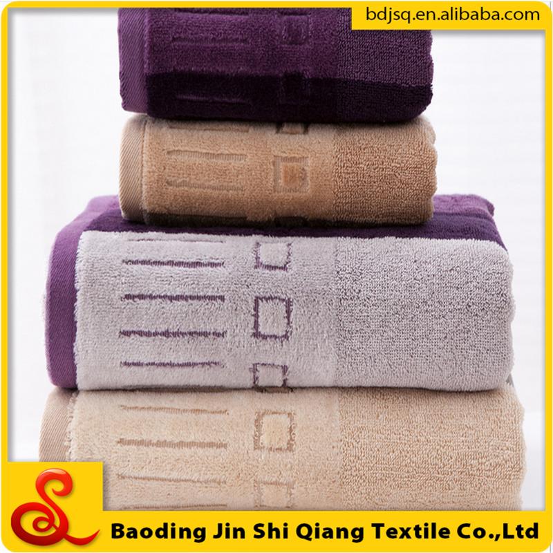 100 cotton toalla de bano jacquard bath towel buy bath for Perchas toallas bano
