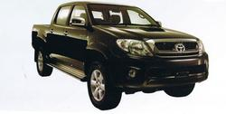 Toyota Hilux Vigo 4x4 Double Cab Turbo Diesel car