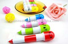 Creative Telescopic pill pen,Capsule ballpoint pen,Vitamin ball pen
