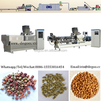 Extrusion pet food processing equipmetn plant from Jinan DG company
