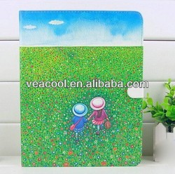 Stand Cartoon PU Leather Case for iPad Air Case iPad 5 5th Gen Case