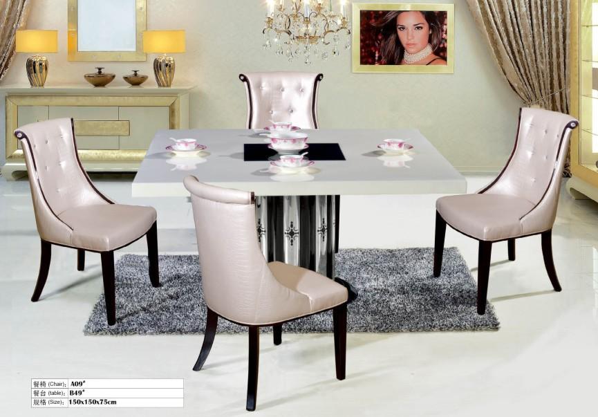 2015 modern furniture dining table set design buy dining for Dining set decoration
