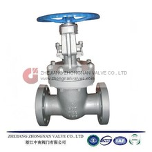 ANSI A216 WCB 600LB FLANGED END STEM GATE VALVE