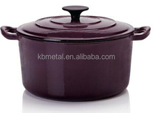 easy clean enamel pot for cooking