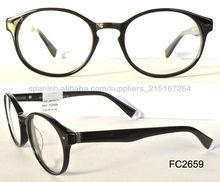 2013 últimas lentes del acetato del marco