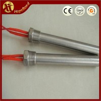 customized rod/stick/cartridge heater with external/interanl thread/flange