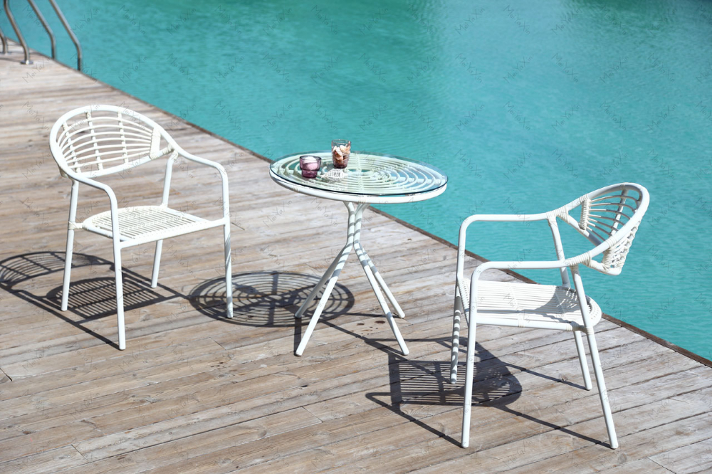 Wholesale 2015 cheap hotel terrace cane outdoor furniture